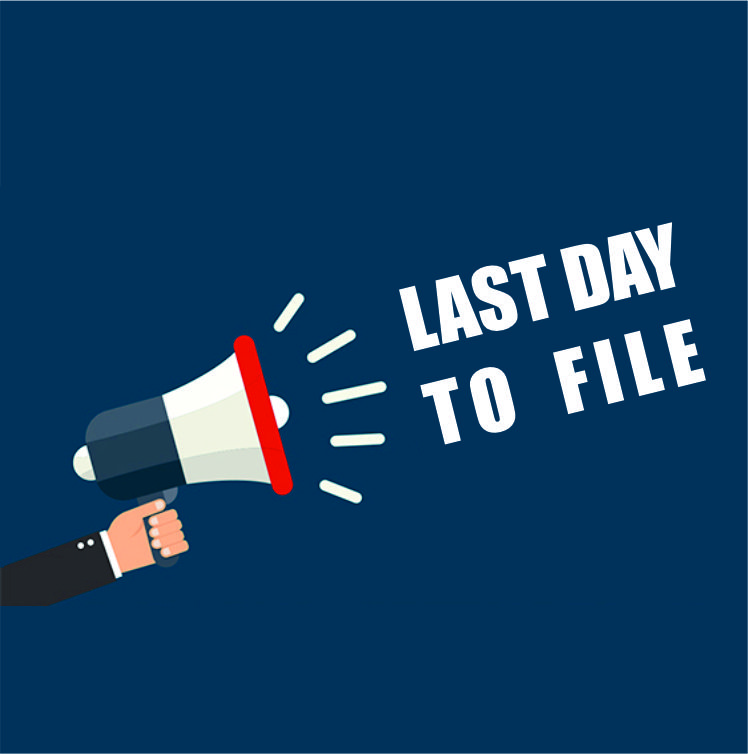 Last Day to File