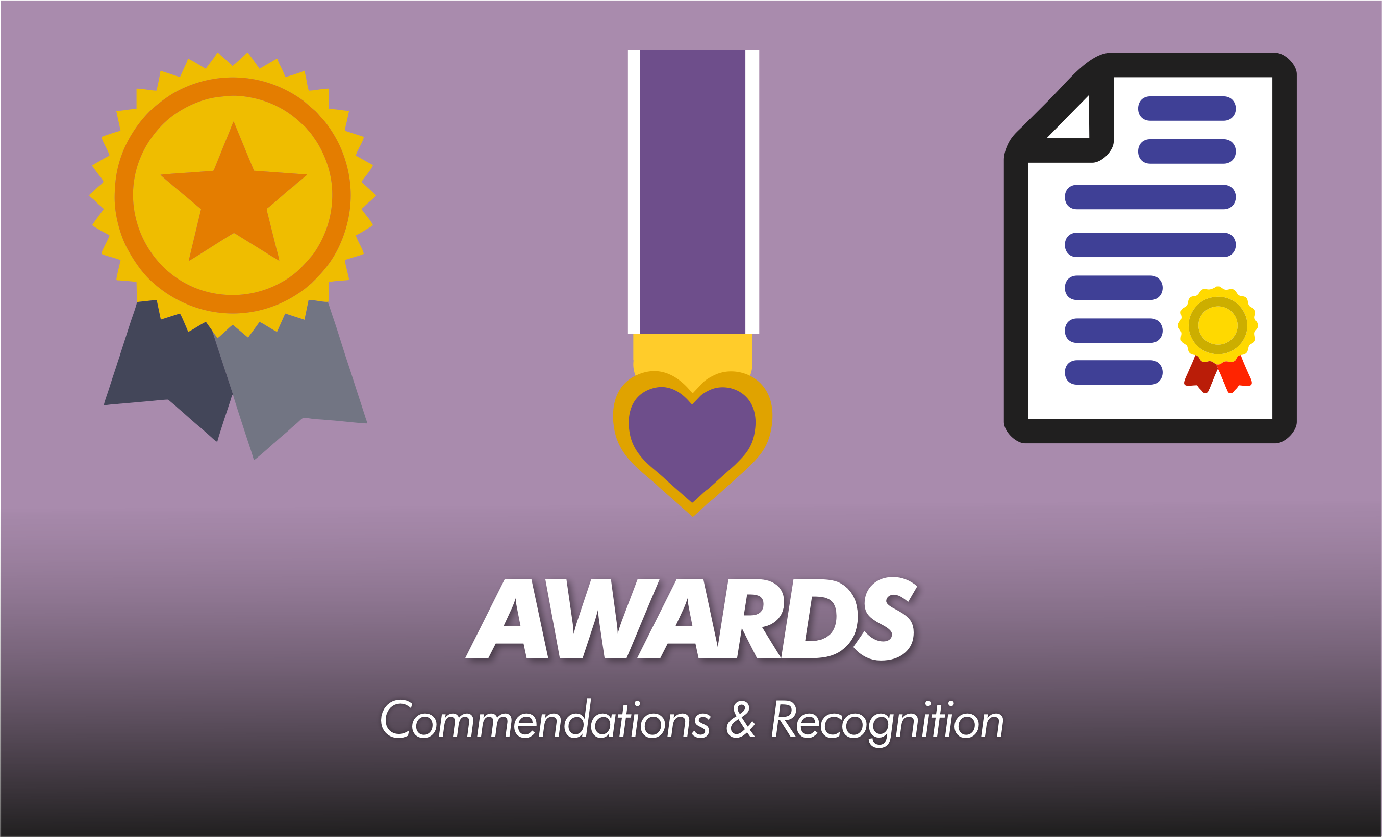 Awards & Commendations